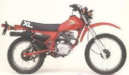 HONDA XL185S UP TO 1982 PARTS