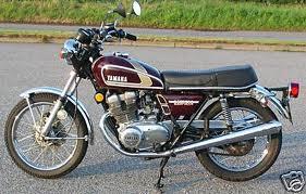 YAMAHA XS500 B 1975 PARTS