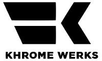 H/D KHROME WERKS EXHAUST MUFFLER