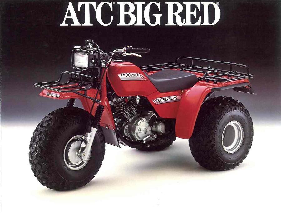HONDA ATC250ES BIG RED PARTS