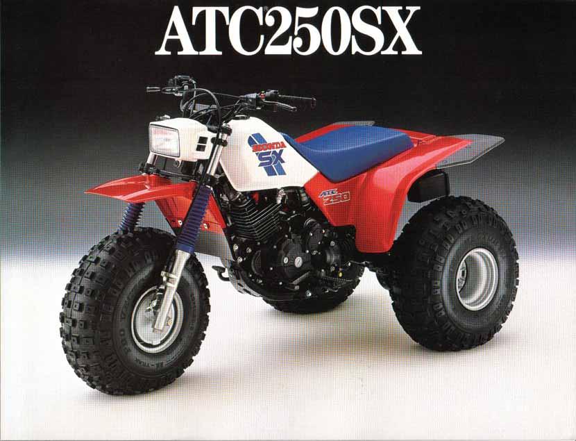 HONDA ATC250SX PARTS