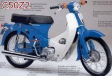 HONDA C50Z2 1977-1979 PARTS
