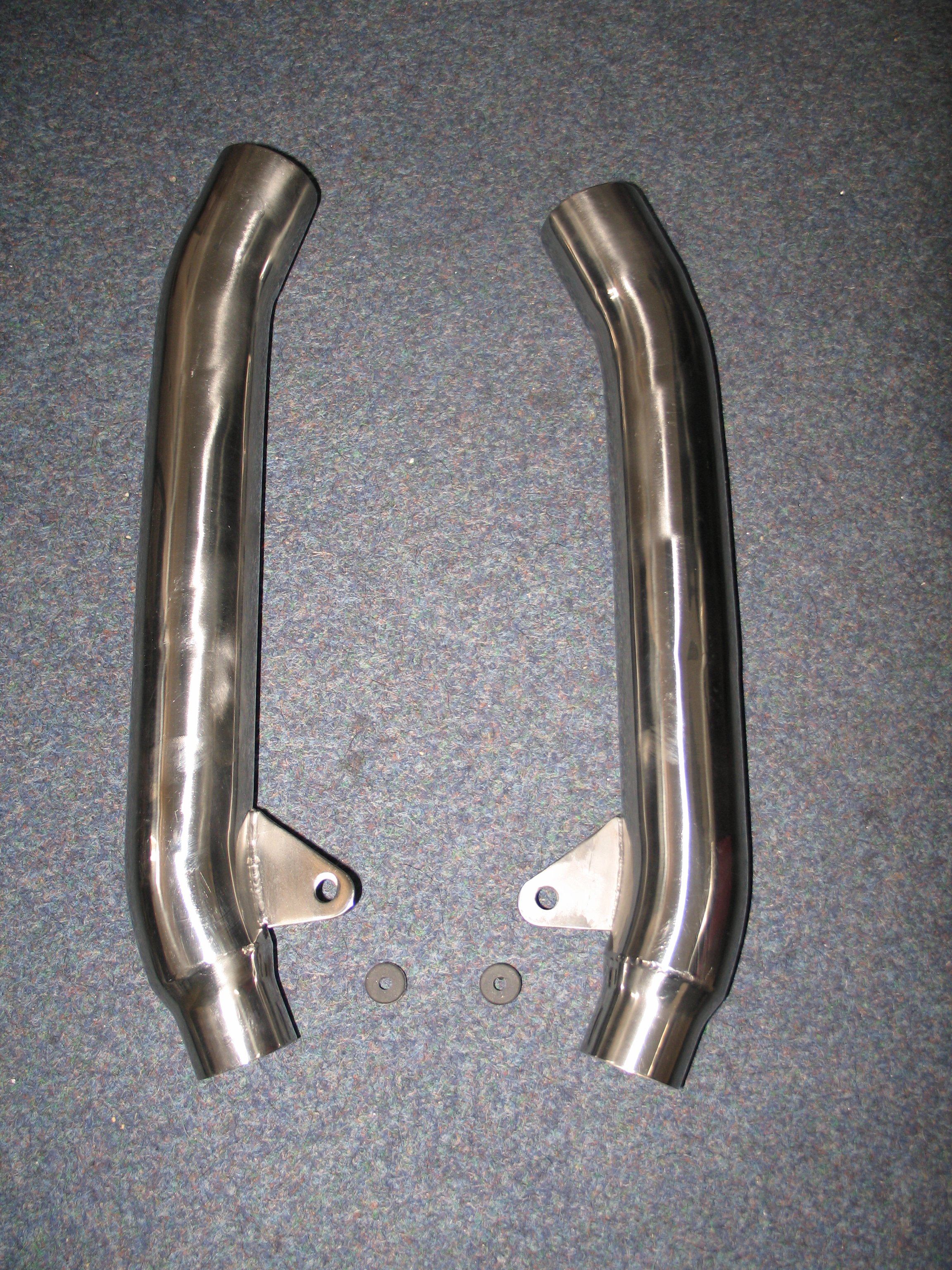 MOTORCYCLE LINK PIPES