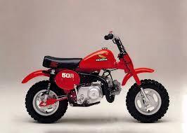 HONDA ZR50R CROSS MONKEY 1973-93 PARTS