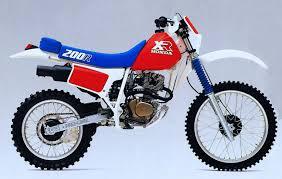 HONDA XR200R 1983-ON PARTS