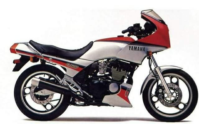 YAMAHA FJ600 PARTS