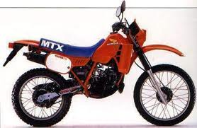 HONDA MTX125 TRAIL RWD, RWF, RWH, RWL 1983-1995 PARTS