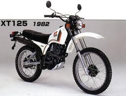 YAMAHA XT125 ENDURO (82-87) PARTS