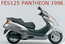 HONDA FES125 PANTHEON 2T 1998-2003 PARTS