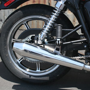 BC USA PREDATOR TRIUMPH EXHAUST AMERICAN MARKET 2010-ONWARDS