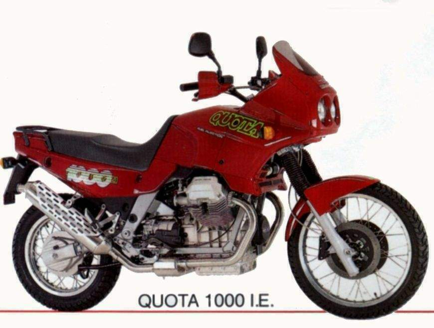 MOTO GUZZI QUOTA 1000ie PARTS