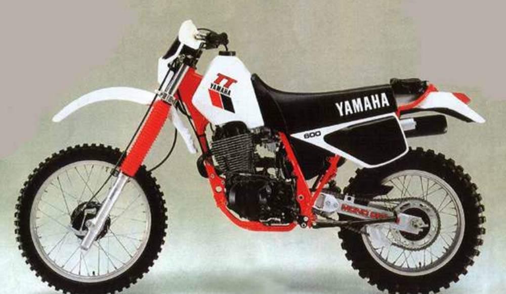 YAMAHA TT600E (94-03) PARTS