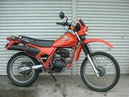 HONDA XL125 R, RC, RF 1982-1988 PARTS