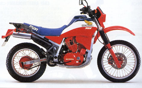 HONDA XLV750R PARTS