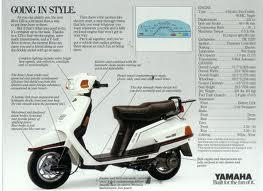 YAMAHA XC125 BELUGA (95-97) PARTS
