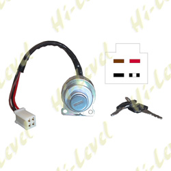 YAMAHA YB100 DELUXE 1983-1992 (4 WIRES) IGNITION SWITCH