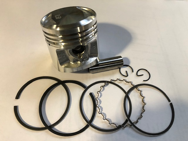 HONDA CB400/4, CB400F (377) PISTON KIT STD TO JAPAN 1.00mm OVERSIZE