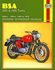 BSA A50, BSA A65 TWINS 1961-1973 WORKSHOP MANUAL