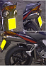 HONDA VFR800, V-TEC PREDATOR ROAD SYSTEM WITH R/BAFFLE IN S/STEEL