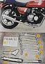 KAWASAKI GT550 ALL MODELS (82-94) PREDATOR 4-1 ROAD SYSTEM IN S/STEEL
