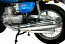 SUZUKI GT750, M, A, B, KETTLE, (75-77) FULL EXHAUST SYSTEM CHROMED OEM REPLICA