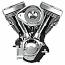 H/D FLH, FLHT, FLT, FLST, FLTR, FXD, FXR, FXST, XL S&S ENGINE V124 TÜV BLACK