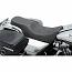 HARLEY DAVIDSON SEAT PREDATOR 2-UP REAR 2-UP VINYL BLACK