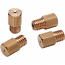 BRASS JET HEX 100 (6MM HEAD SIZE, 5MM THREAD & 0.90MM PITCH)