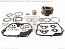 HONDA C50, C70, 6V BIG BORE KIT ALUMINIUM Ø51MM 6V 72CC USING STOCK HEAD