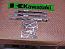 KAWASAKI Z1 KZ900 (72-77) FRONT DUAL BRAKE HOSE SETS HOSE X3 STEEL PIPE X2