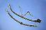 YAMAHA XS650 FRONT BRAKE HOSE SETS Upper & Lower Hose & Steel Pipe