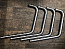KAWASAKI Z550 FOUR SET OF X4 DOWN PIPES IN S/S EXTRA LONG