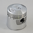 HONDA C90 (028 EARLY 6V MODELS) PISTON KIT (STD) 50mm TO 51mm O/SIZE JAPAN