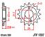 1307-15 FRONT SPROCKET CARBON STEEL