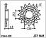 1441-13 FRONT SPROCKET CARBON STEEL