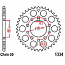 1334-41 REAR SPROCKET CARBON STEEL