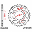 1478-40 REAR SPROCKET CARBON STEEL