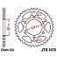 1478-43 REAR SPROCKET CARBON STEEL