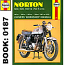 HAYNES MANUAL NORTON 500, 600, 650, 750 TWINS 1957-1970 WORKSHOP MANUAL
