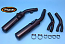 Honda VFR750F 86/87 Silencers - Original Style - Black