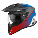 Airoh Commander Adventure Helmet Red/Blue Matt