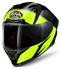 Airoh Valor Full Face Helmet - Eclipse Yellow Gloss (SIZES XS TO XXL)