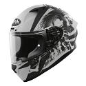 Airoh Valor Full Face Helmet - Akuna Grey Black Matt (SIZES XS TO XXL)
