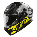 Airoh Valor Full Face Helmet - Akuna Yellow Gloss (SIZES XS TO XXL)