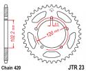 006-47 REAR SPROCKET APRILIA RS50 1999-2005 (MOST POPULAR)