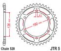 005-41 REAR SPROCKET APRILIA 125 ETX TUAREG 1985-1986