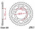 007-45 REAR SPROCKET BMW S1000RR 12-14 BMW HP4 1000cc 12-14