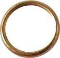 EXHAUST GASKET COPPER OD 33mm, ID 25.60mm, THICKNESS 4.00mm