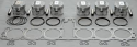 Honda CBX1000 (79-82) Big bore Pistons Kit & Head Gasket 1146cc 67.5mm