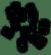 YAMAHA TZR250, TDR250 (3XV) PISTON PIN SMALL END NEEDLE BEARINGS (PAIR) JAPAN